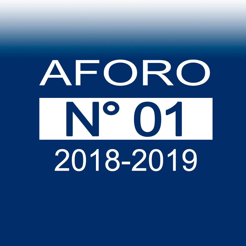 AFORO N° 01 – 11 de octubre de 2018