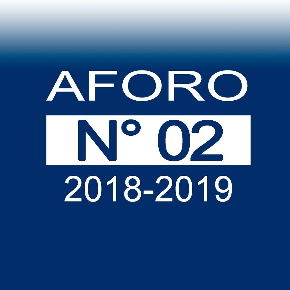AFORO N° 2 – 23 de octubre de 2018