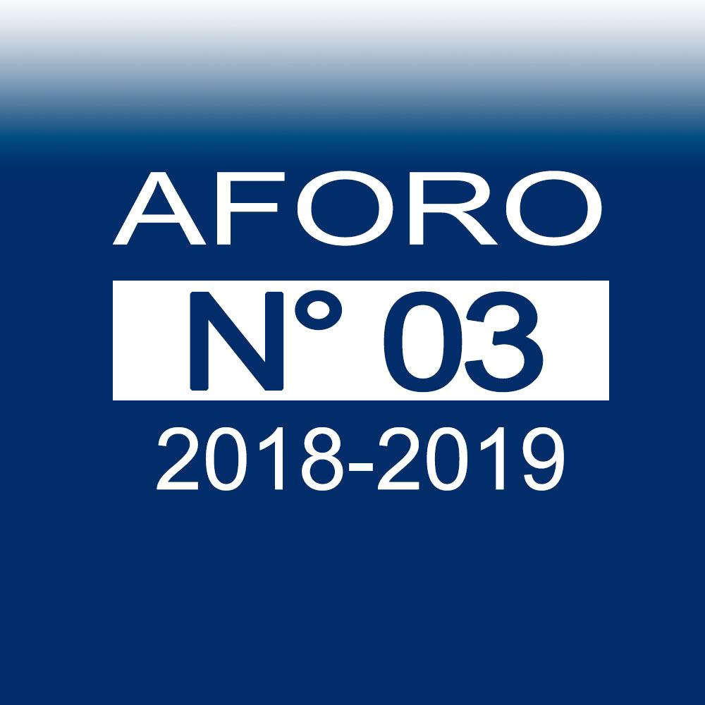 AFORO N° 3 – 30 de octubre de 2018