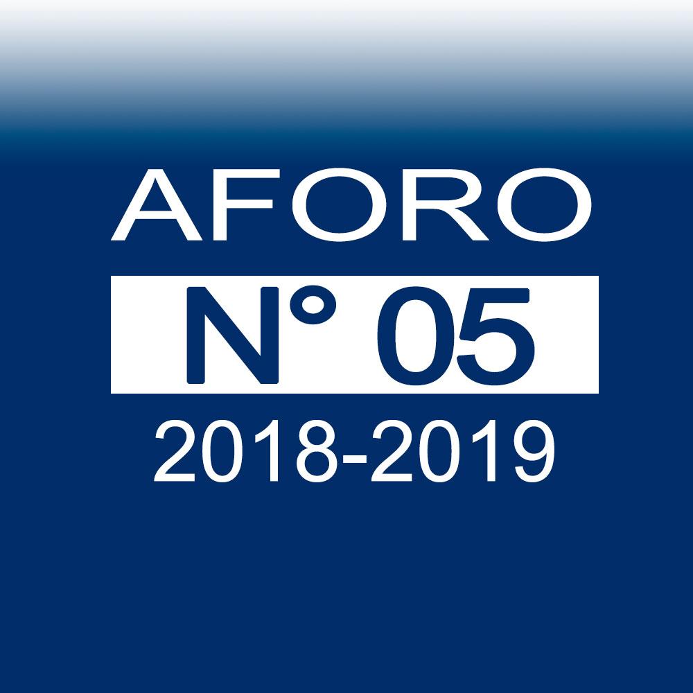 AFORO N° 5 – 13 de noviembre de 2018