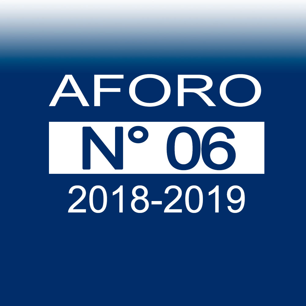 AFORO N° 6 – 20 de noviembre de 2018