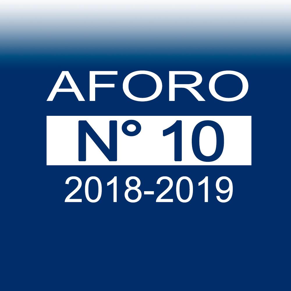 AFORO N° 10 – 18 de diciembre de 2018