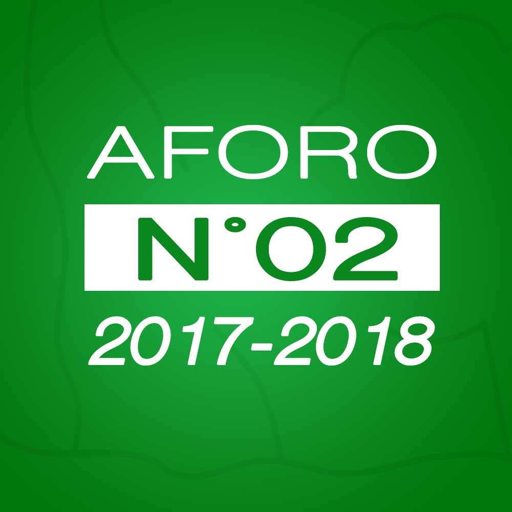 Aforo N° 02 – 31 de octubre de 2017