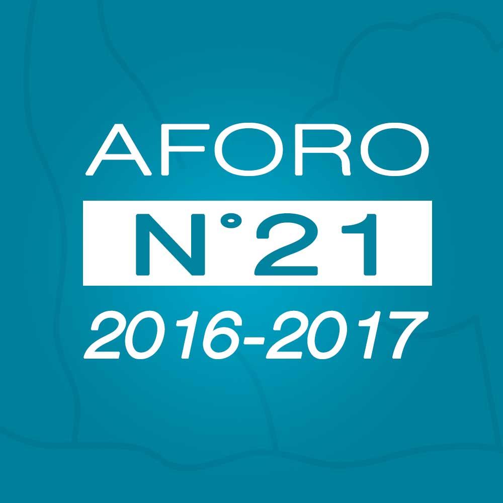 Aforo N° 21 – 14 de marzo de 2017