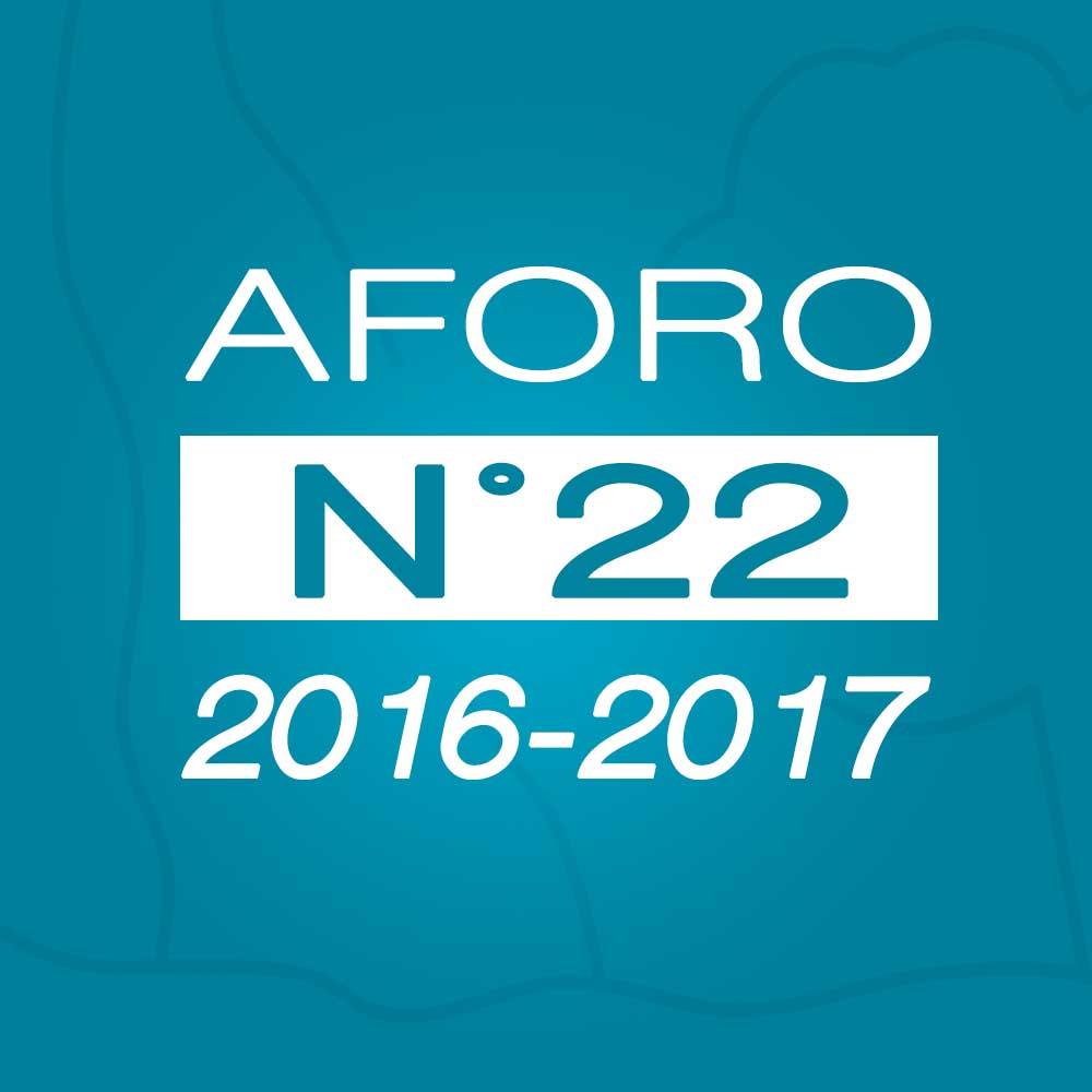 Aforo N° 22 – 21 de marzo de 2017