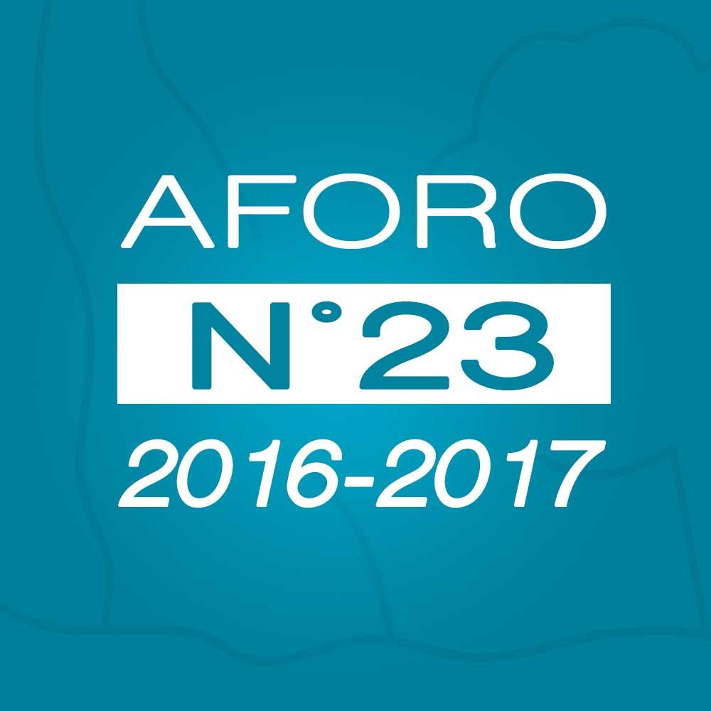 Aforo N° 23 – 28 de marzo de 2017