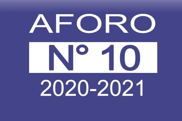 Aforo N° 10 2020-2021