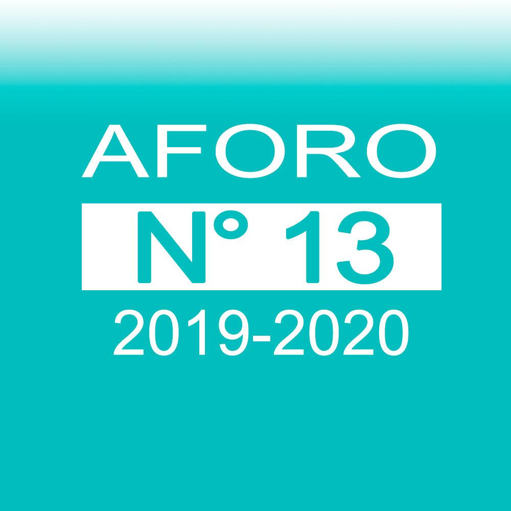 Aforo 13 2019-2020