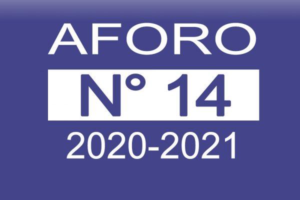 Aforo 14 2020-2021