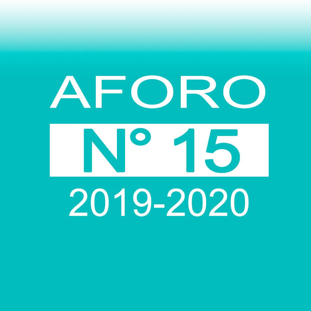 Aforo 15 2019-2020