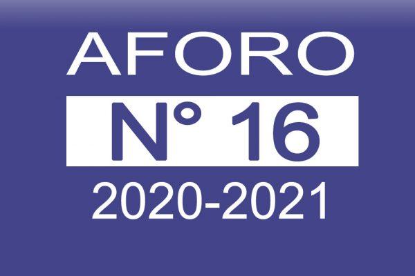 Aforo 16 2020-2021