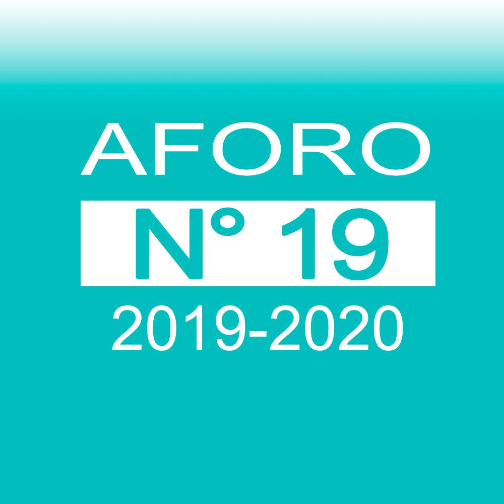 Aforo 19 2019-2020