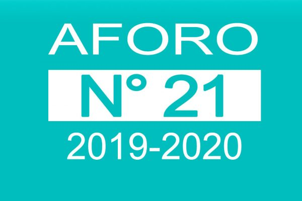 Aforo 21 2019-2020