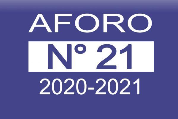 Aforo 21 2020-2021