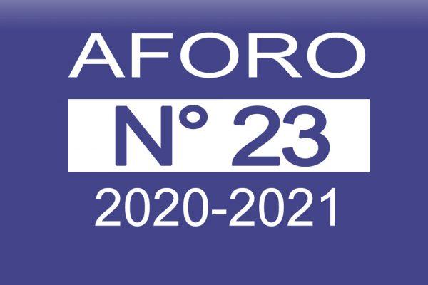 Aforo 23 2020-2021