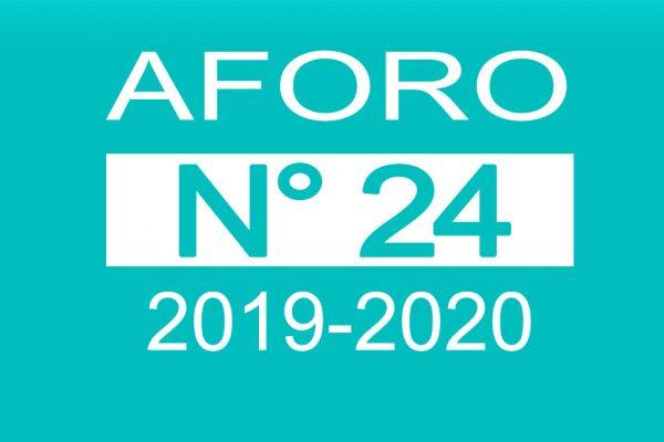 Aforo 24 2019-2020