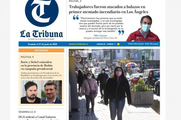 Carta al Director La Tribuna: La reforma al Código de Aguas, pasa a la Comisión Mixta